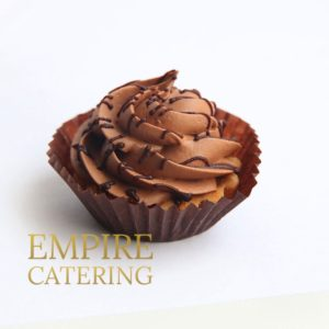 Мини-корзиночка с шоколадным муссом (35 гр)
