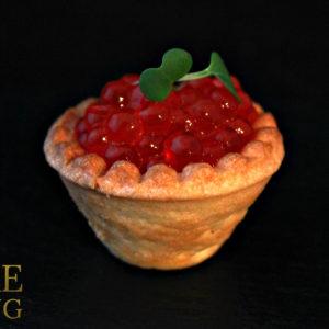 Красная икра в марталетке со сливочным маслом (35 гр)