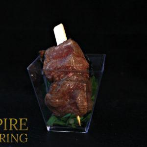 Мини-шашлычок из говяжьей вырезки (45 гр)